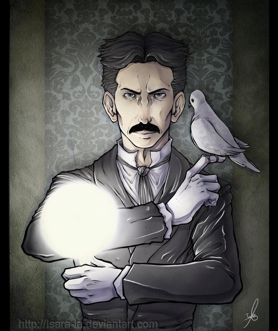 Cómic Ilustración Y Diseño Nikola Tesla