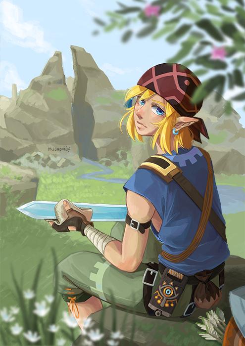 Mijsadia Link Fanart Legend Of Zelda Breath Of The Wild